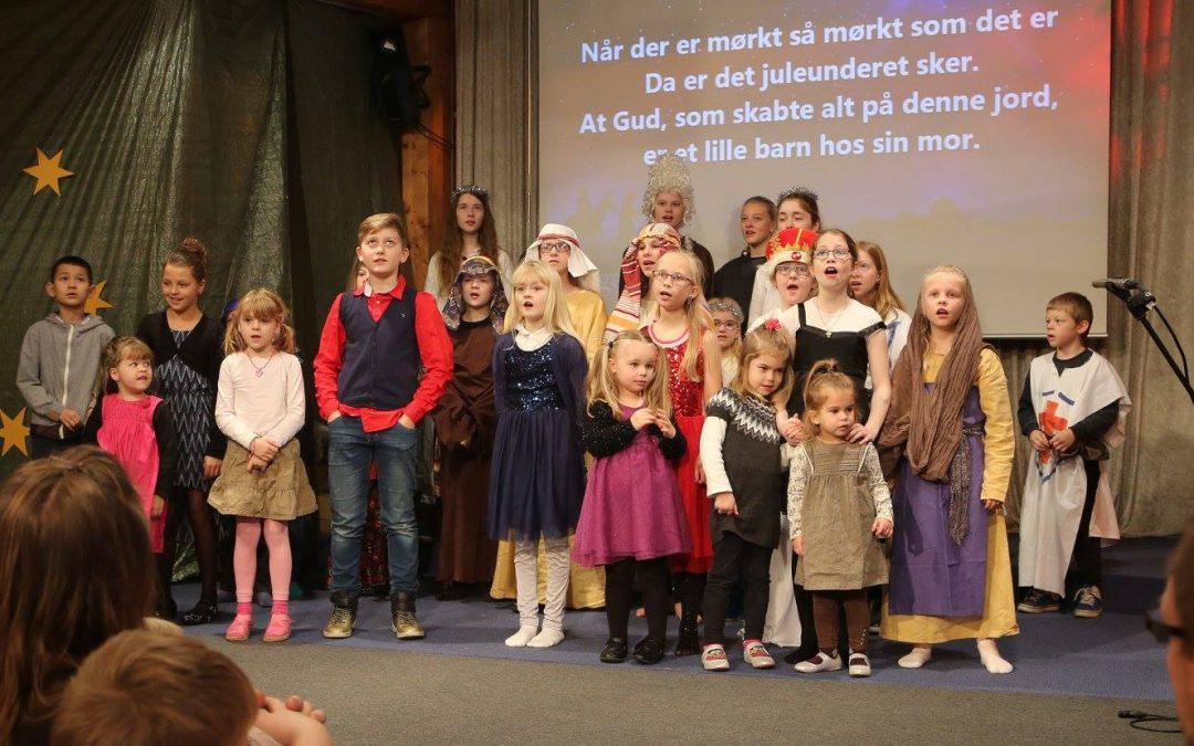 Børnekirkens julefest 9. dec.