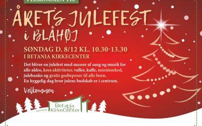 Årets Julefest 8. dec.